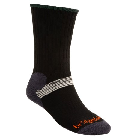 Bridgedale Cross Country Ski Socks (for Men and Women) in Black W/ Contrast Color