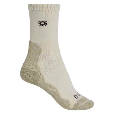 Bridgedale Doite CoolMax® Socks - Crew (For Women) in Natrual/Stone - 2nds