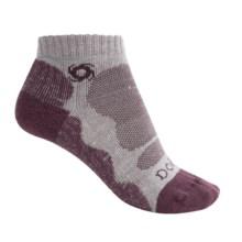 Bridgedale Doite Lo Socks - Below the Ankle (For Women) in Silver/Plum - 2nds