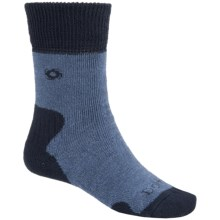 Bridgedale Doite MerinoFusion Summit Socks - Merino Wool, Crew (For Women) in Blue/Navy - 2nds