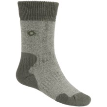 Bridgedale Doite MerinoFusion Summit Socks - Merino Wool, Crew (For Women) in Olive Heather/Olive - 2nds