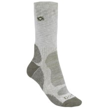 Bridgedale Doite Socks - CoolMax®, Crew (For Men) in Grey/Natural - 2nds
