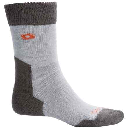 Bridgedale Doite Summit Socks - Merino Wool, Crew (For Men) in Grey - 2nds
