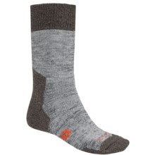 Bridgedale Doite Summit Socks - Merino Wool, Crew (For Men) in Heather Grey/Dark Heather Grey - 2nds