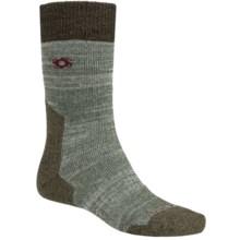 Bridgedale Doite Summit Socks - Merino Wool, Crew (For Men) in Light Heather Green/Heather Green - 2nds