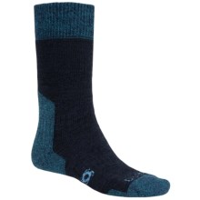 Bridgedale Doite Summit Socks - Merino Wool, Crew (For Men) in Midnight/Blue Green - 2nds