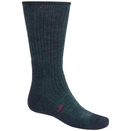 Bridgedale Doite Trekker Socks - Merino Wool, Crew (For Men) in Navy Heather - 2nds