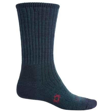 Bridgedale Doite Trekker Socks - Merino Wool, Crew (For Men) in Navy - 2nds