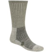 Bridgedale Doite Trekker Socks - Merino Wool, Crew (For Men) in Olive Heather - 2nds