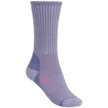 Bridgedale Doite Trekker Socks - Merino Wool, Crew (For Women) in Lavender - 2nds
