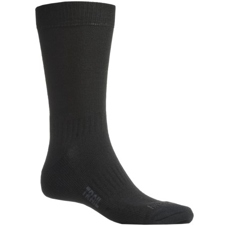 Bridgedale End Trail Socks - New Wool (For Men and Women) in Black