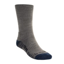 Bridgedale End Trail Socks - New Wool (For Men and Women) in Grey/Dark Blue - 2nds
