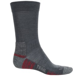 Bridgedale End Trail Socks - New Wool (For Men and Women) in Gunmetal