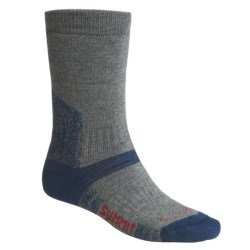 Bridgedale Endurance Summit Socks - Wool (For Men) in Grey/Dark Blue