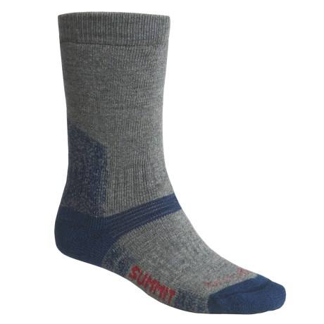 Bridgedale Endurance Summit Socks - Wool (For Men) in Black / Grey