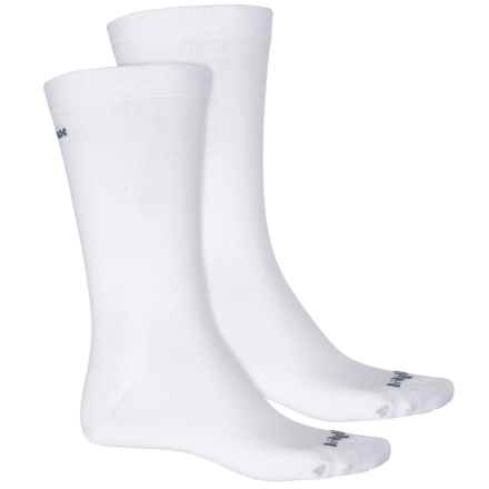 Bridgedale Everyday Outdoors CoolMax® Liner Socks - 2-Pack (For Men and Women) in White - Closeouts