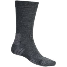 Bridgedale Explore Socks - Crew (For Men and Women) in Charcoal Heather - 2nds