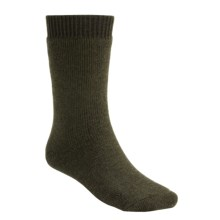 Bridgedale Explorer Socks - Merino Wool, Mid Calf (For Men) in Dark Green - 2nds
