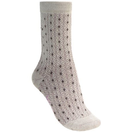 Bridgedale Fleur De Lys Socks (For Women) in Aubergine