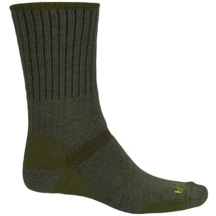 Bridgedale Hiker Socks - Merino Wool, Crew (For Men) in Olive - Closeouts