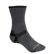 Bridgedale Hiker Socks - Midweight (For Men and Women) in Dark Grey/Black - 2nds