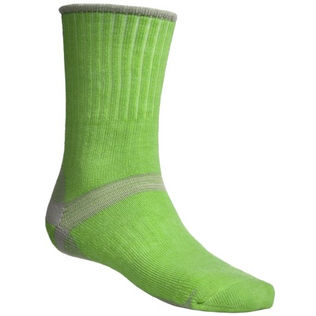 Bridgedale Hiker Socks - Midweight (For Men and Women) in Lime/Grey