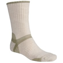 Bridgedale Hiker Socks - Midweight (For Men and Women) in Natural/Light Olive - 2nds