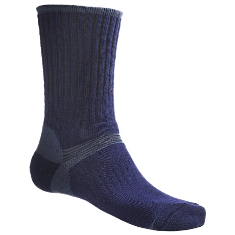 Bridgedale Hiker Socks - Midweight (For Men and Women) in Black/Charcoal
