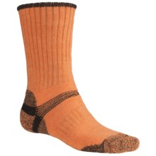 Bridgedale Hiker Socks - Midweight (For Men and Women) in Orangee Heather/Black - 2nds