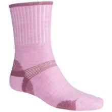 Bridgedale Hiker Socks - Midweight (For Men and Women) in Pink/Magenta - 2nds