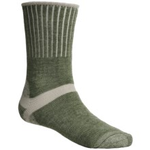 Bridgedale Hiker Socks - Midweight (For Men and Women) in Sage/Natural - 2nds
