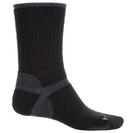 Bridgedale Hiker Socks - Wool, Crew (For Men) in Black - 2nds