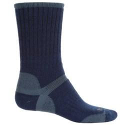 Bridgedale Hiker Socks - Wool, Crew (For Men) in Navy