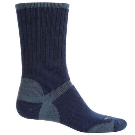 Bridgedale Hiker Socks - Wool, Crew (For Men) in Navy - 2nds