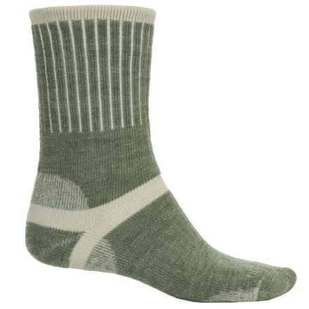 Bridgedale Hiker Socks - Wool, Crew (For Men) in Seaweed - 2nds