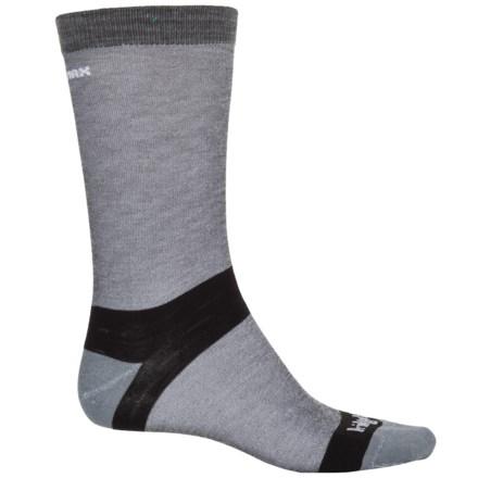 94dead6876503 Bridgedale Hiking Liner Socks - CoolMax®, Crew (For Men) in Grey -
