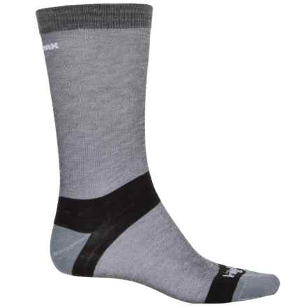Bridgedale Hiking Liner Socks - CoolMax®, Crew (For Men) in Grey - 2nds