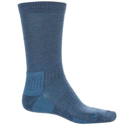 Bridgedale Hiking Socks - Crew (For Men) in Light Grey Mari - 2nds
