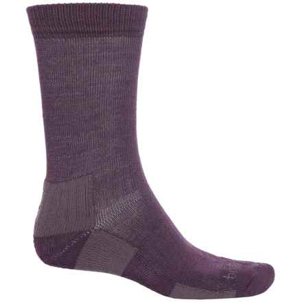Bridgedale Hiking Socks - Crew (For Men) in Plum - 2nds