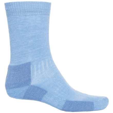 Bridgedale Hiking Socks - Crew (For Men) in Sky Blue - 2nds