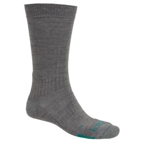 Bridgedale Hiking Socks (For Men and Women) in Grey/Dark Teal