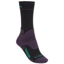 Bridgedale Hiking Socks - Wool (For Women) in Black/Purple - 2nds
