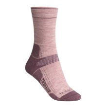 Bridgedale Hiking Socks - Wool (For Women) in Light Purple/Mauve - 2nds