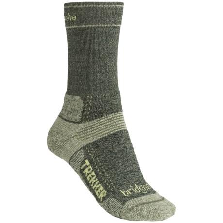 Bridgedale Hiking Socks - Wool (For Women) in Olive