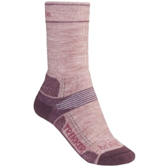 Bridgedale Hiking Socks - Wool (For Women) in Roseberry