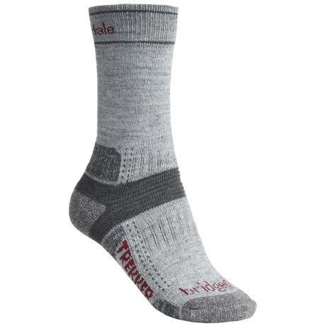 Bridgedale Hiking Socks - Wool (For Women) in Silver