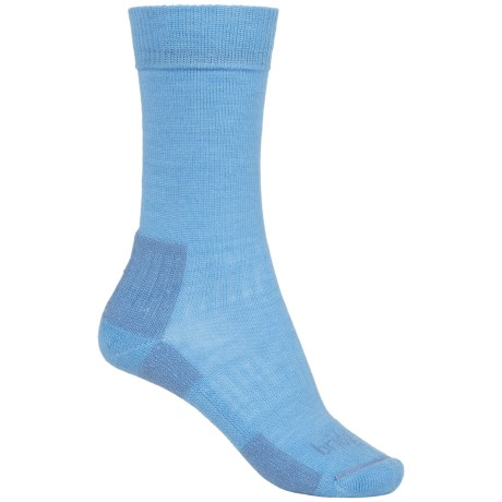 Bridgedale Merino Blend Socks - Merino Wool, Crew (For Women) in Sky