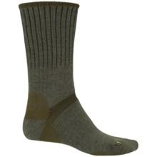 Bridgedale Merino Hiker Socks - Merino Wool, Crew (For Women) in Green Heather/Olive - 2nds