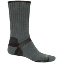 Bridgedale Merino Hiker Socks - Merino Wool, Crew (For Women) in Gunmetal/Black - 2nds