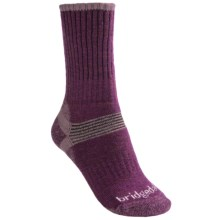 Bridgedale Merino Hiker Socks - Merino Wool, Crew (For Women) in Plum - 2nds